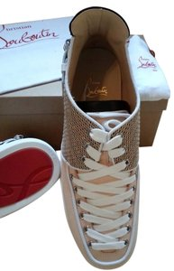 Christian Louboutin Tan/beige/white Athletic