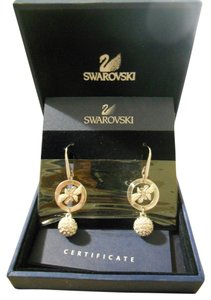 Swarovski Signature crystal circle earrings