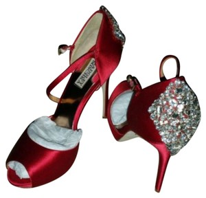 Badgley Mischka Red Pumps