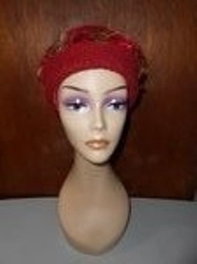 Other Womens Wool Dark Cranberry Red Fall Colors Artisan Winter Hat Image 1