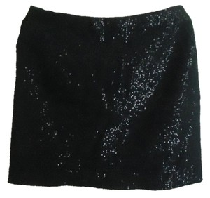 Ann Taylor LOFT Tayolor Wool Blend Skirt black