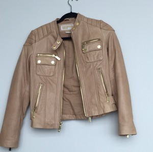 4dbb081fd8d8 Michael Kors Leather Jackets - Up to 70% off at Tradesy