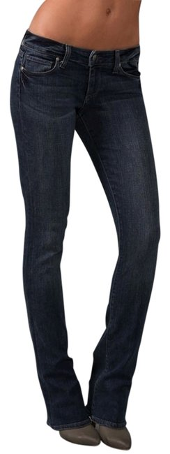 Paige Laguna Premium Denim Boot Cut Jeans-Medium Wash
