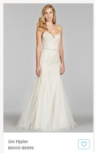Jim Hjelm 8400 Wedding Dress