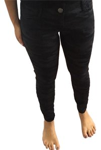 Express Ankle-length Jean Cotton Skinny Jeans-Dark Rinse