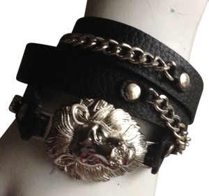 Other Black Lion Wrap Bracelet