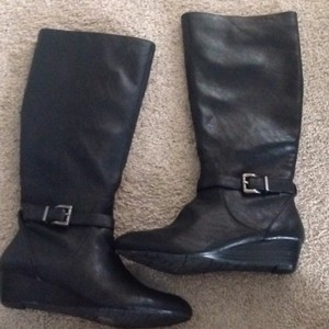 Jessica Simpson Black with silver accents Boots