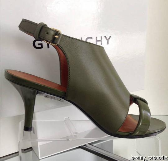 Givenchy Green Sandals Image 2