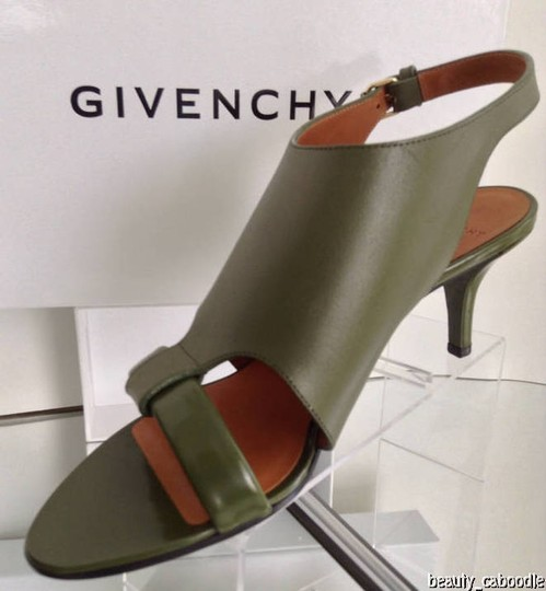 Givenchy Green Sandals Image 3