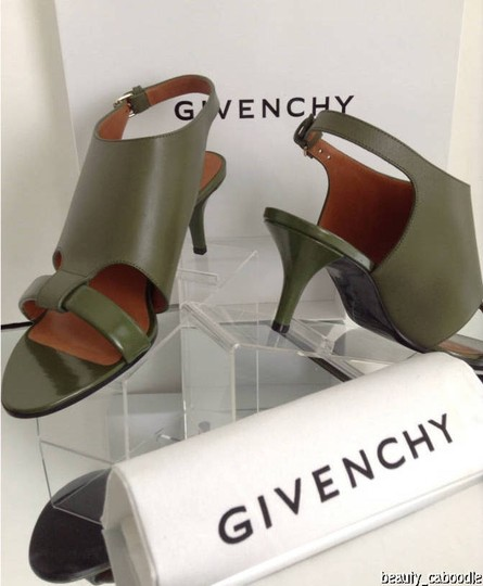 Givenchy Green Sandals Image 6
