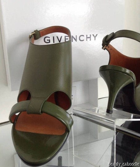 Givenchy Green Sandals Image 8