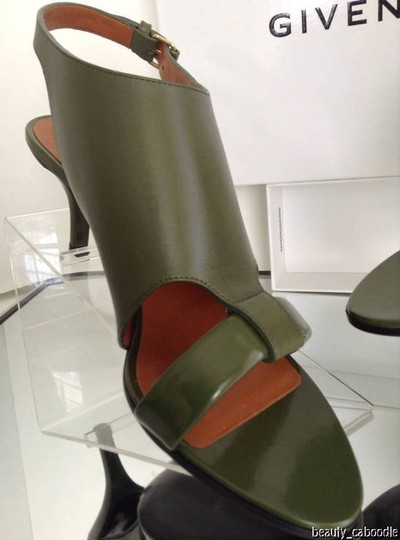 Givenchy Green Sandals Image 9