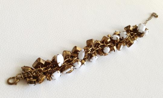 Other Adjustable White and Gold Bracelet
