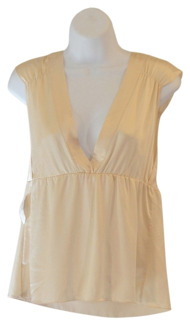 Preload https://item2.tradesy.com/images/rebecca-taylor-cream-silk-blouse-size-8-m-841291-0-0.jpg?width=400&height=650