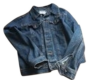 Calvin Klein Denim Blue Womens Jean Jacket
