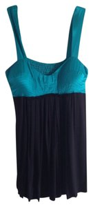 Single Top Black ana teal