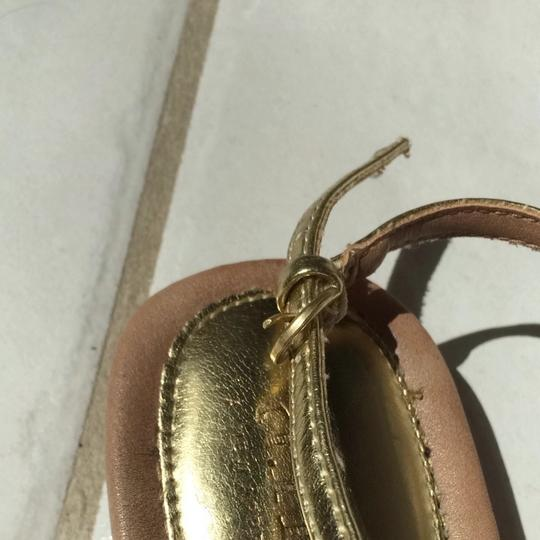 Ana Golden Tan Sandals