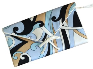 Julie Brown Silk Clutch