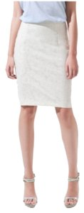 Zara Skirt Ivory Lace pencil skirt