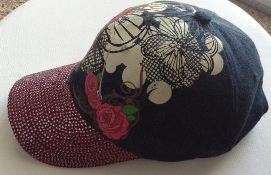 Nicole Mighty Designs Custom Denim Hat
