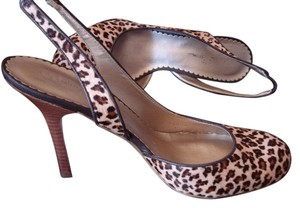 Jessica Simpson Animal Calf Hair Leopard Cheetah Print Pumps