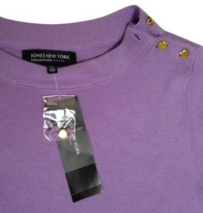 Lord & Taylor Purple New Sweater