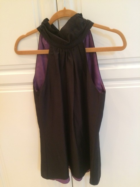 7 For All Mankind Top Black and purple