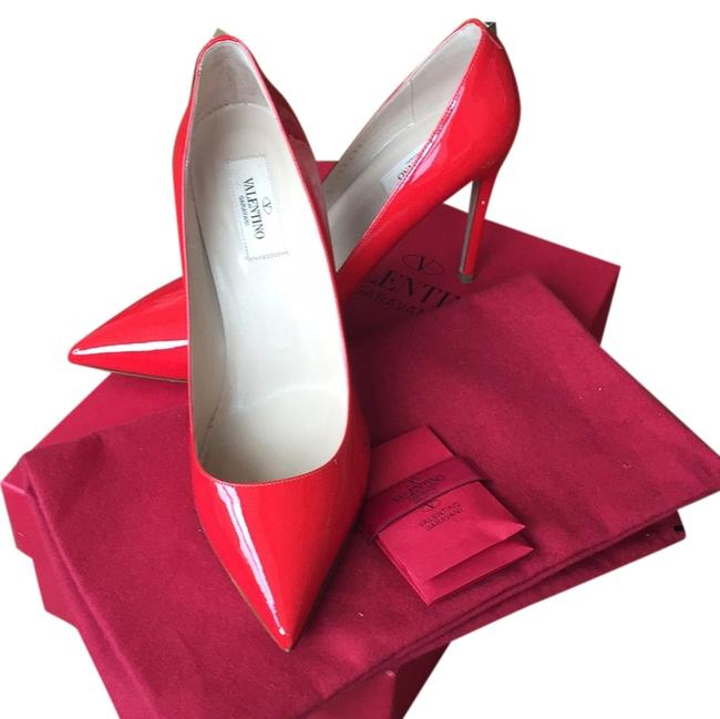 Valentino F28 Red D1559239 Formal Shoes Size US 9 Regular (M, B) Valentino F28 Red D1559239 Formal Shoes Size US 9 Regular (M, B) Image 1
