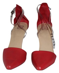 Hervé Leger red Pumps