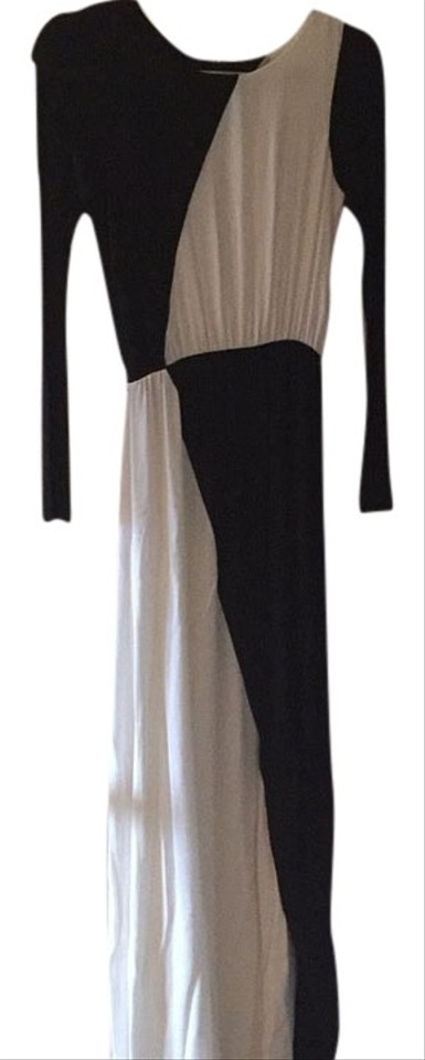 Black White Maxi Dress By Alice Olivia