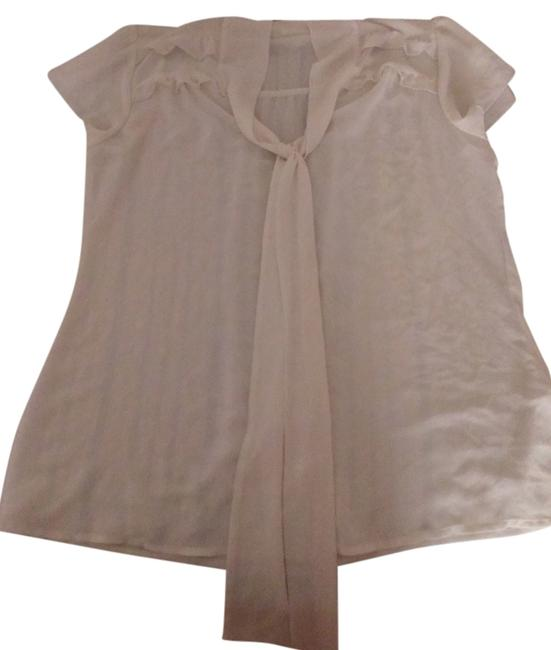 Maurices Button Down Shirt Off-White/Ivory