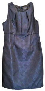 Just Taylor Navy Blue Formal Work Dress