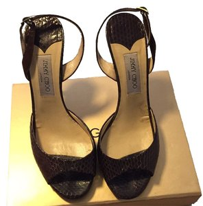 Jimmy Choo Chocolate Sandals