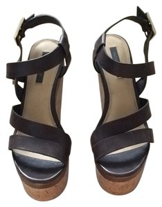 Rachel Zoe Brown Wedges