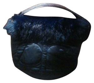 Coach Satin Fur Hobo Bag