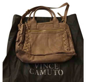 Vince Camuto Satchel in Tan