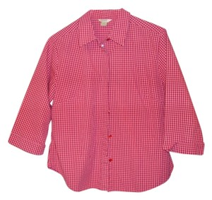 Christopher & Banks Button Down Shirt pinks