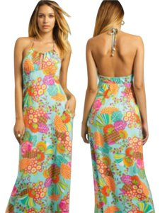 Acqua/multi Maxi Dress by Trina Turk