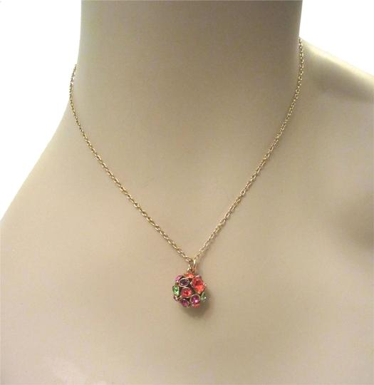 Preload https://img-static.tradesy.com/item/8419120/kate-spade-multi-color-lady-marmalade-disco-ball-pendant-12kt-gold-plated-necklace-0-1-540-540.jpg