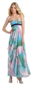 Multi-colored, Pastel Maxi Dress by BCBGMAXAZRIA