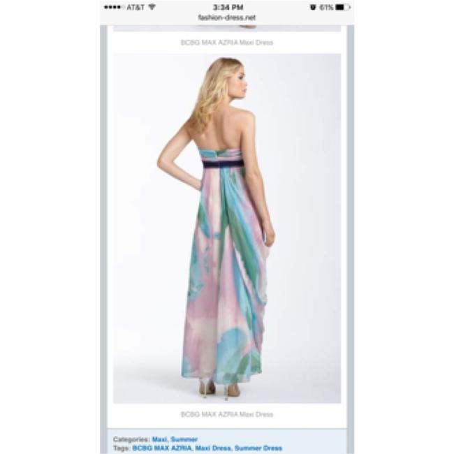 Multi-colored, Pastel Maxi Dress by BCBGMAXAZRIA Image 1