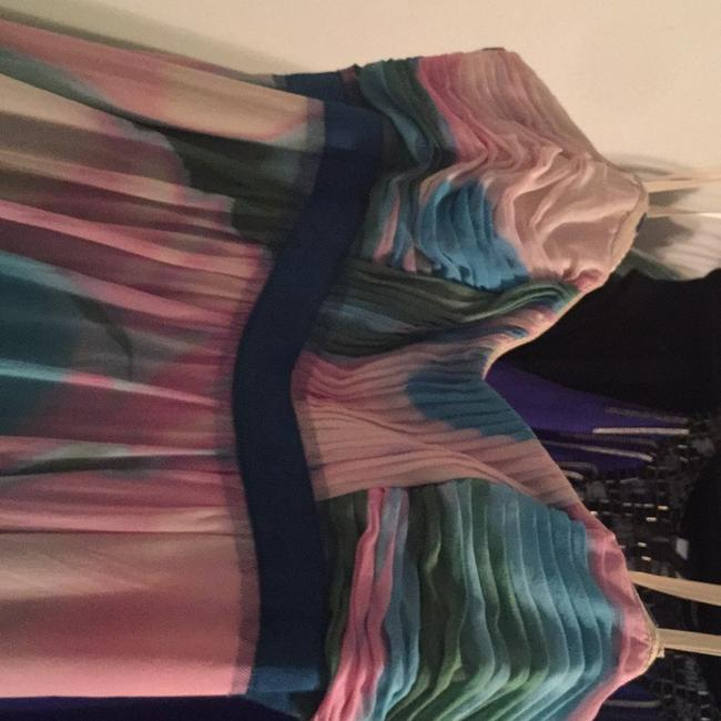 Multi-colored, Pastel Maxi Dress by BCBGMAXAZRIA Image 4