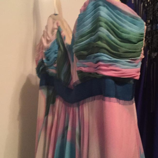 Multi-colored, Pastel Maxi Dress by BCBGMAXAZRIA Image 5