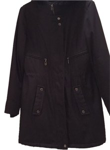 Andrew Marc / Marc New York Faux Weather Resistant Winter Long Fur Coat