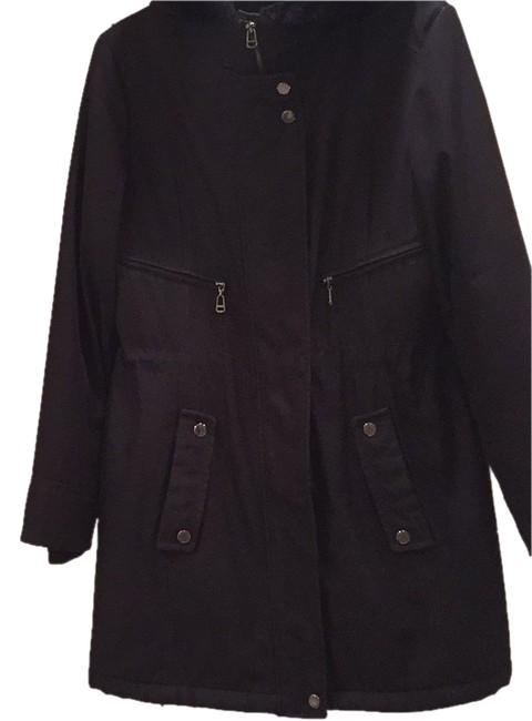 Preload https://img-static.tradesy.com/item/8419984/black-faux-weather-resistant-winter-long-coat-size-10-m-0-2-650-650.jpg