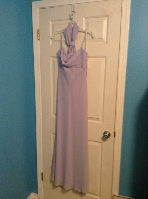 Item - Lilac Polyester 8022ex Formal Bridesmaid/Mob Dress Size 4 (S)