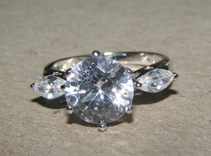 Show Stopping Engagement Ring Free Shipping