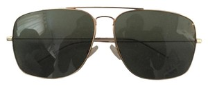 Saint Laurent Saint Laurent Palladium Aviator Sunglasses