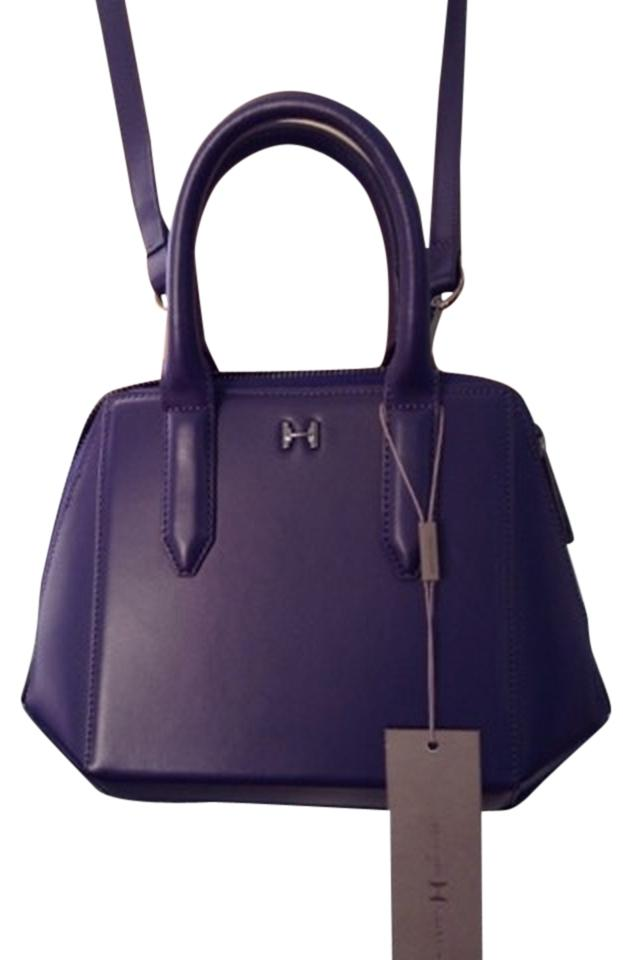 Halston Heritage Handbag Satchet Satchel Cross Body Bag