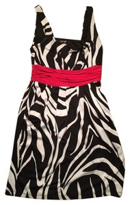 JFW Zebra Zebra Print Mini Size S Zebra Print Dress